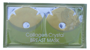 Increased Breast Elasticity Gold Collagen Breast Enlargement Mask for Woman