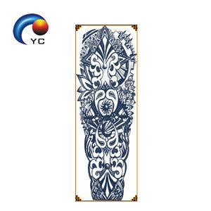 OEM Custom tattoo designs CMYK full arm sleeves temporary tattoo sticker,factory supply