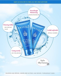 OEM high-quality refreshing hydrating smoothing facial bubble cleanser