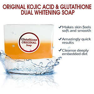 Original Kojic Acid and Glutathione Dual Whitening Soap