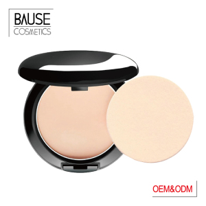 Private Label Face Makeup Cosmetics Waterproof Pressed Powder Compact Foundation