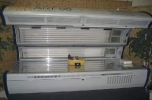 REPO: ACN 52 Bulb SUPER VHR TANNING BED 6 Face Tanners