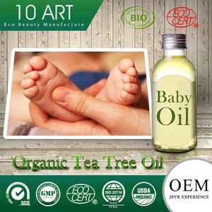 Vitamin E organic coconut oil moisturizing baby oil