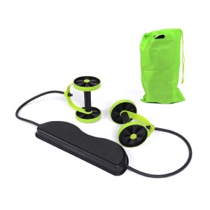 Wholesale Hot Selling Fitness Wheel Roller Home Gym Equipment AB Wheel Roller With Rope