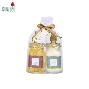 Wholesale oem 500ml customized peony fragrance moisturizing hand wash with cream