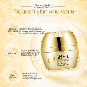 Wholesale price refreshing facial nourishing winter skin care snail moisturizing face cream