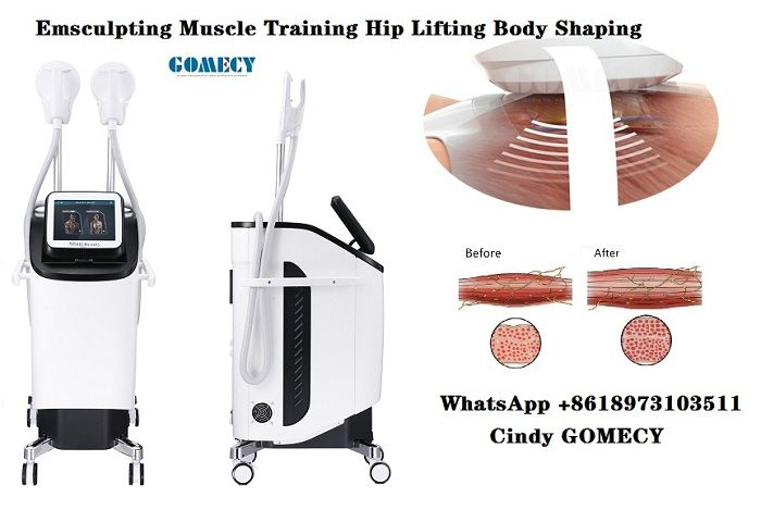 EMSlim Body Muscle Training HIFEM technical Body Belly Muscle lifting Hip training  machine