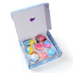 2020 Hot Sale Organic Bathbomb Gift Set Cake Fruit Shape Handmade Bubble Bath Bombs