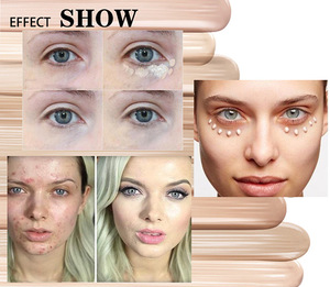 BIBIWOW face waterproof tube glow sticks foundation makeup highlighters liquid private label makeup concealer