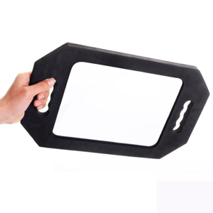 Custom Handheld Salon Hair Cutting Makeup Hairdresser Mirror