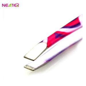 Custom Pattern Nail Tweezer Dumont Tweezers Manicure Tweezer With Cheapest Price