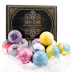 Customized Package Handmade Gift Set DIY Natural Essential Oils Bath Bomb of OEM