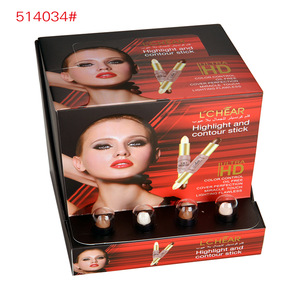 LCHEAR brand highlight contour stick color control oil free cover perfection miracle touch lighting flawless concealer