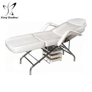 new massage facial bed /spa bed heated for sell used beauty salon equipment