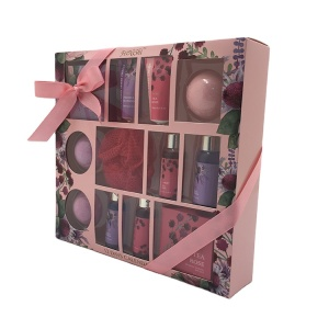 OEM bath bomb and body works body care gift set