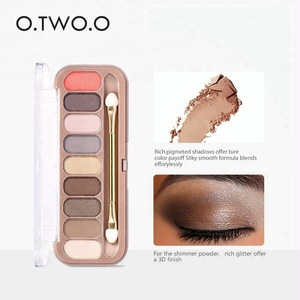 O.TWO.O Brand 9 colors matte and shiny eye shadow palette