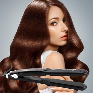 Professional Salon Steam Flat Iron Hair Straightener