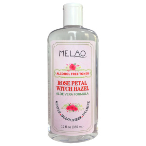 Rose Water 100% Pure Organic Skin Toner for Face care Moisturizing and Hydrating