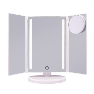 Shenzhen Factory Wholesale LED 3 Way Makeup Mirror With Lights