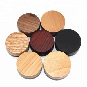 wholesale 7 styles custom 6cm small round bamboo hair boar bristle beard brush