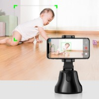 Smartphone LZ Mobile Face Rotation Camera Phone Holder / 360 Object Auto Tracking Smart Shooting Phone Holder For Iphone