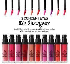 3 Concept Eyes Lip Laquer