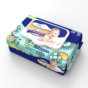 Besuper WK020 Wholesale Bamboo Natural Organic Baby Wet Wipes/ Biodegradable Sensitive Wet Wipes/ Compostable Facial Wipes