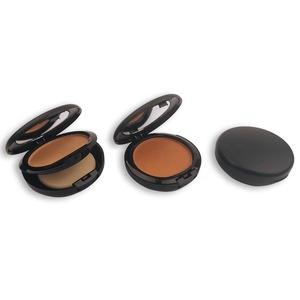 Custom package makeup powder set face no brand cpmpact makeup pressed powder
