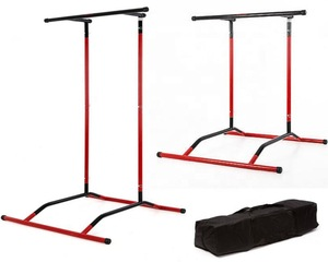 Multi-gym station integrated gym trainer fitness & body building pull up bar push up chin ups dips horizontal bars