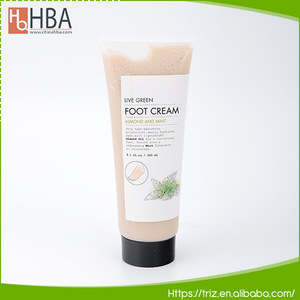 OEM smooth skin care 240ml natural foot cream for cracked heels