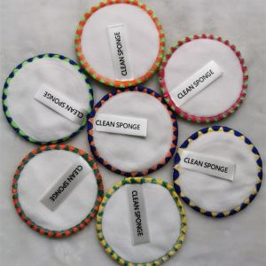 Reusable Bamboo Cotton Makeup Remover Pads by Healthy Family