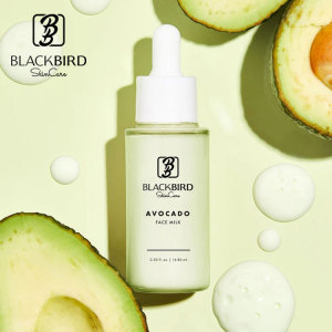 Skin Serum Private Label Whitening Brightening Serum Avocado Face Milk Hyaluronic Acid Serum