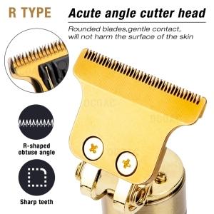 T9 Hair Trimmer Li T-Outliner Skeleton Heavy Hitter Cordless Trimmer Men 0mm Baldheaded Hair Clipper Finish Hair Cutting Machine