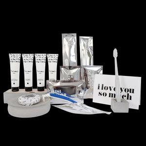 The British brand Thinkubody hotel traveling spa hotel mini soap and shampoos