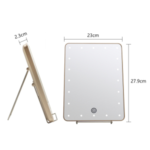USB charger vanity makeup led lights wall Smart led mirror