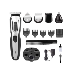 Waterproof And floating Heads Multifunctional Hair Trimmer Clipper Set