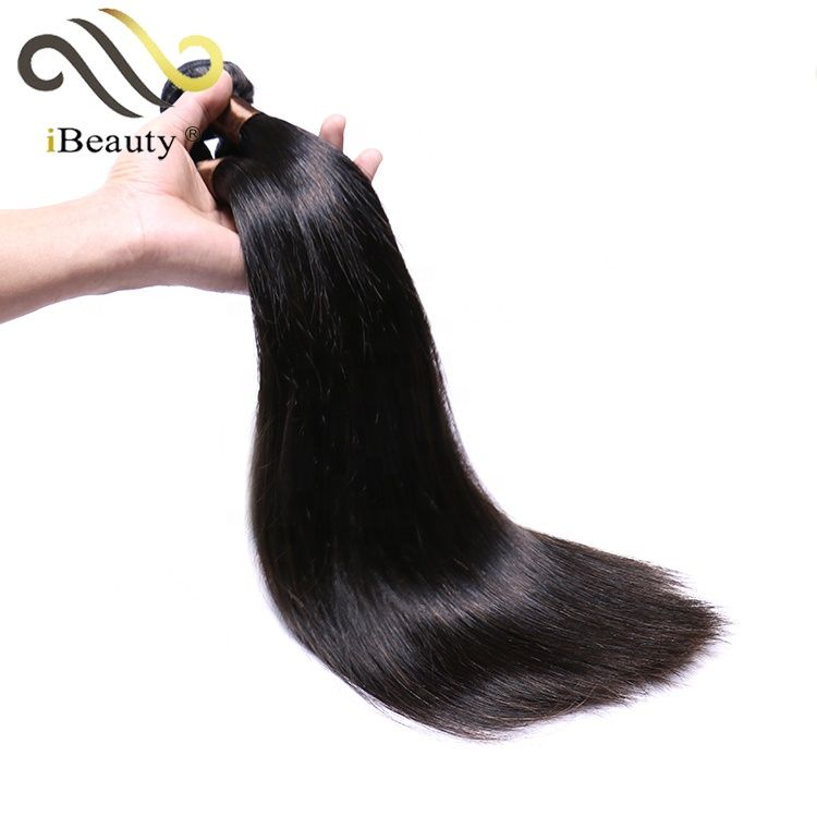 Wholesale raw malaysian lace frontal straight bundles hair