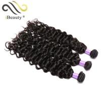 hot sale 100 % human brazilian deep wave hair