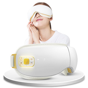 2019 New product OSTO Air pressure vibrating heating music eye care massager