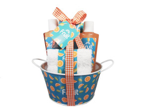 Chine Designer Plastic Bathtub Reing Shower Gel Gift Soap Spa Bath Set Body Perfume Lotion Set