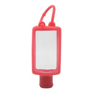 Christmas Gift Silicone Soft Squeeze Hand Sanitizer Bottle for Hand Washing