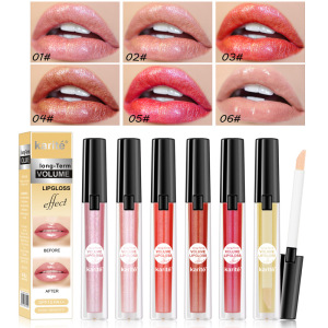 Custom Logo Wholesale Private Label Natural Organic Moisturizing Glossy Nude Shimmer Glitter Lip Gloss Private Label Gloss Lip