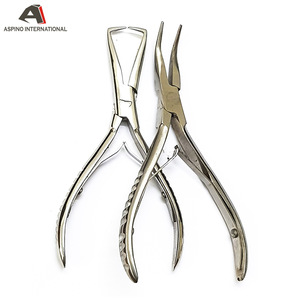 Hair Extension Removal Pliers For Micro Rings /Steel Hook Pulling and loop needles kit set