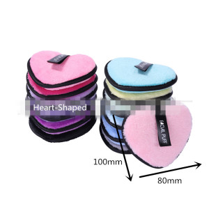 Hot Sale Products Reusable Microfiber Cleaning Face Makeup Remover Pads