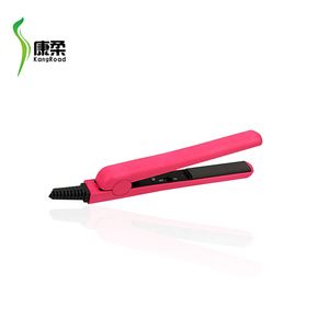 Hot Selling 2017 Amazon Ceramic Hair Straightener Nano Titanium Fast Heat Up Mini Hair Straightener