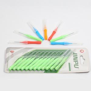 I type reusable interdental brush oral cleaning brush