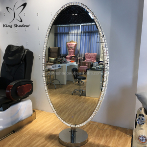 lighted makeup station salon hair equipment beauty salon station mirror with led light