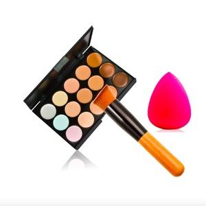 New 15 Color Face Concealer Make Up Camouflage Palette