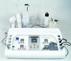 New Products 2019 7 in 1 Vacuum Ultrasonic Spry Galvanic Facial Machine
