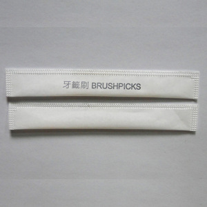 oral hygiene care kit dental toothpick plastic brush